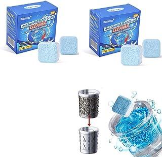 AioTio 24PCS Washing Machine Effervescent Tablets, Washing Machine Cleaner Drum Impeller Cleaner Effervescent Tablets in A...