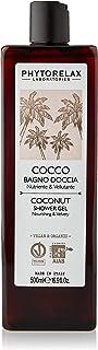 Phytorelax Laboratories Cocco Vegan & Organic - Bagno Doccia – Nutriente, Vellutante, Avvolgente - 500ml