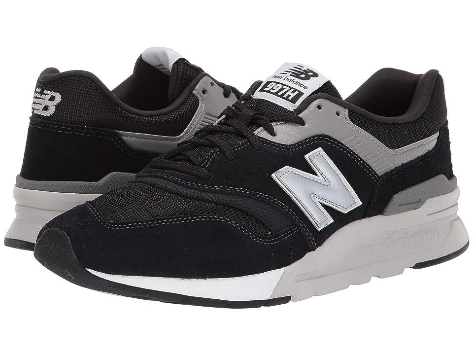 New Balance Classics 997Hv1-USA (Black/Silver) Men's Shoes