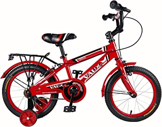 """Vaux Bicycle for Kids- Vaux Excel 16T Kids Bicycle for Boys. Ideal for Cyclist with Height (3'5"""" – 4') – Red"""