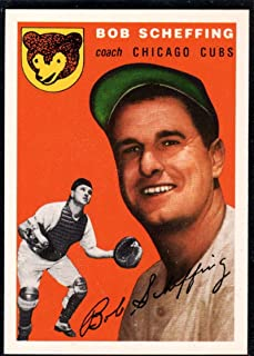 Baseball MLB 1994 Topps Archives 1954#76 Bob Scheffing #76 CO NM Cubs