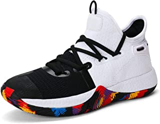 Sponsored Ad - ASHION Big/Youth Kids' Cool Basketball Shoe Sports Trainers
