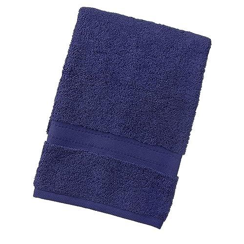 TowelsRus Egyptian 100% algodón súper suave de 550 gsm toalla de baño en azul marino