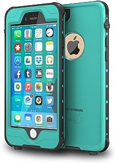 IMPACTSTRONG iPhone 6 Plus / 6s Plus Waterproof Case [Fingerprint ID Compatible] Slim Full Body Protection for Apple iPhone 6 Plus & 6s Plus (5.5) - Ocean Blue