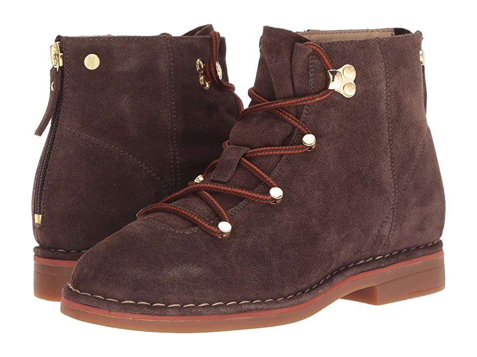 Hush Puppies Catelyn Hiker Boot (Dark Brown Suede) Women
