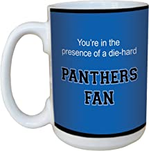 Tree-Free Greetings lm44719 Panthers College Basketball Ceramic Mug with Full-Sized Handle, 15-Ounce