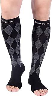 Doc Miller Premium Compression Stockings Support Socks 20-30mmHg Argyle 1 Pair