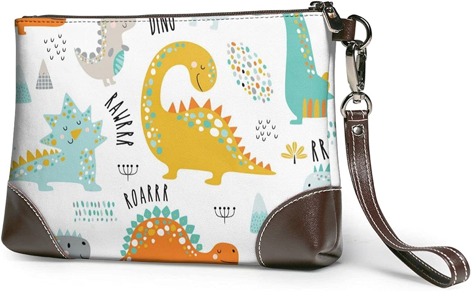 Colorful Hen Ladies Leather-Handbag Design Max 86% OFF Cowhide Wristban Ultra-Cheap Deals Real