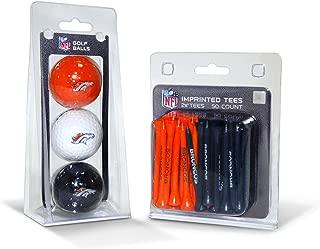 Team Golf NFL Logo Imprinted Golf Balls (3 Count) & 2-3/4