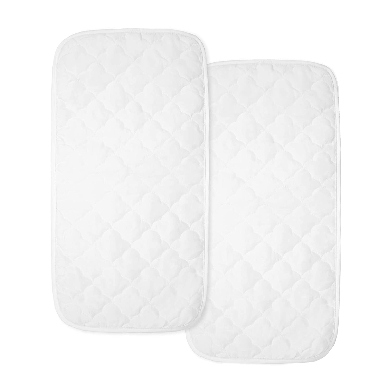 American Baby Company Ultra Soft Quilted Waterproof Multi-Purpose Changing Table Pad Liners, 13