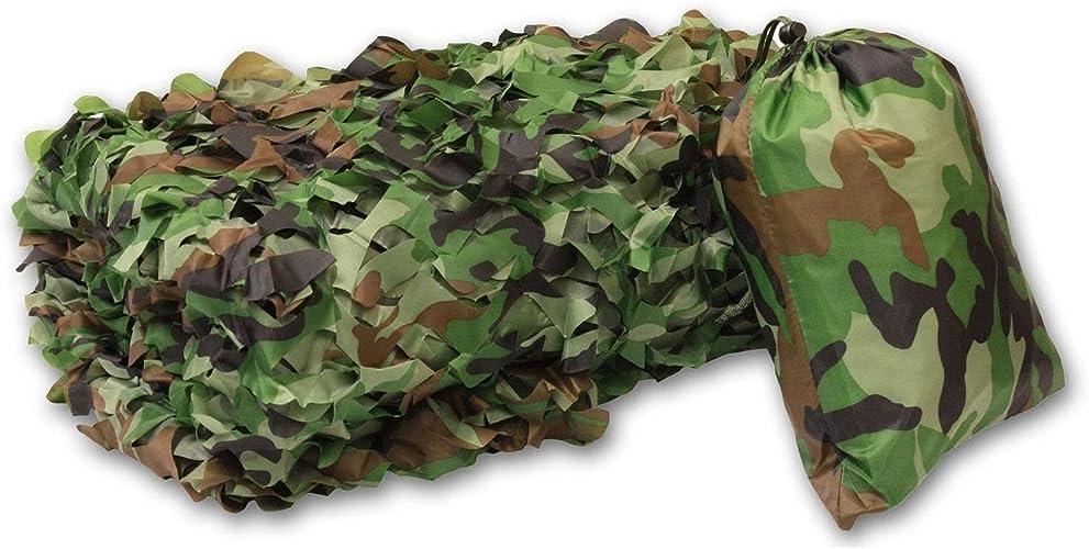 Wangcmcb Filet de Renfort de Camouflage armée Net, adapté aux Enfants à Jouer à la densité Ombre Gamme de tir Militaire Tente de Camping décoration de Mur de Jardin de Voiture cachée extérieur