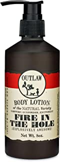 Sponsored Ad - Outlaw Fire in the Hole Natural Lotion - Explosively Awesome - Campfire, Gunpowder, Sagebrush, Whiskey, and...