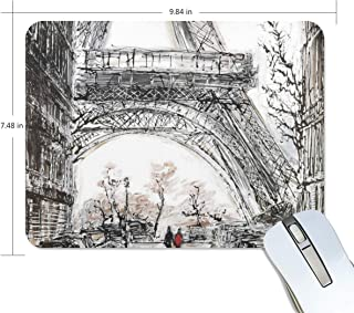 Mouse Pad Paris in Fall Gaming Mousepad Computer Small Thick Mouse Mat Black Fantastic Mouse Pads