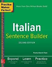 Practice Makes Perfect Italian Sentence Builder