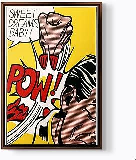 PlusCanvas - Sweet Dreams Baby! - Roy Lichtenstein - 80 x 120cm (32