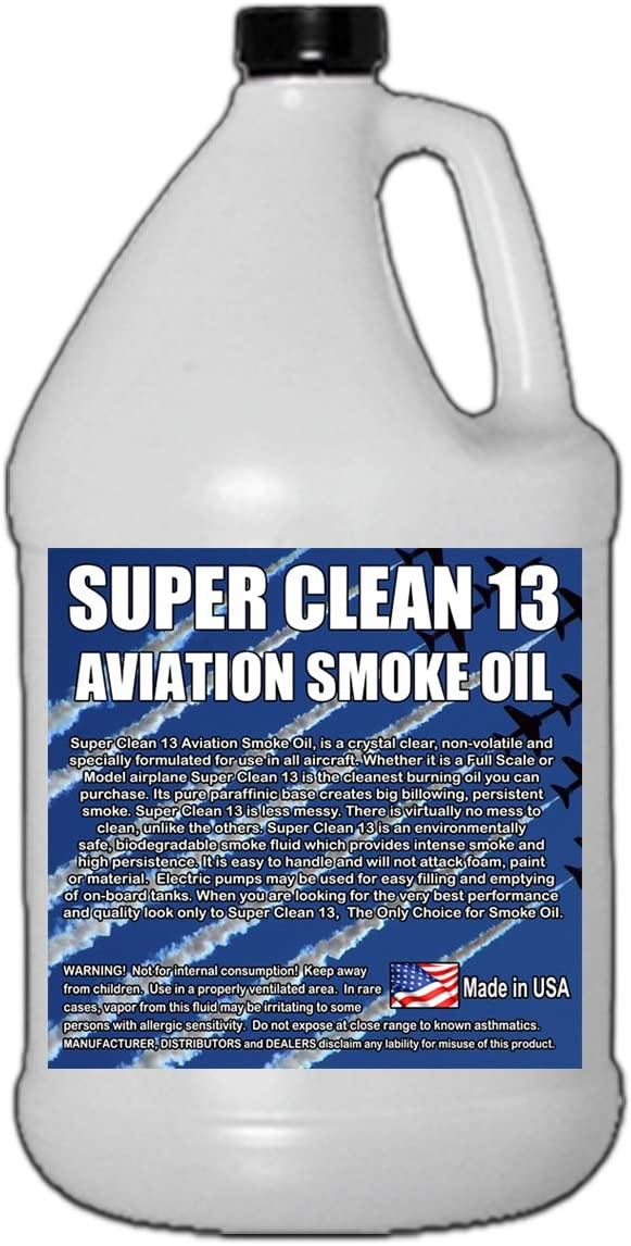Training Smoke - Choice 25% OFF SuperClean Gallon 13 Aviation Oil