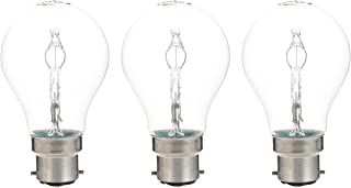 HALOGEN CLASSIC A, Energy Saver, Halogen lamps, classic bulb shape DIMMABLE (30w) Pin - Base B22D, 405 lm -Warm White-2700...