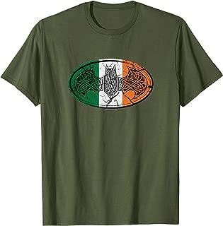 Batman Irish Celtic Symbol T Shirt