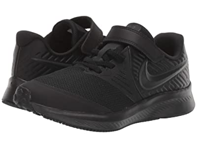 Nike Kids Star Runner 2 (Little Kid) (Black/Anthracite) Kids Shoes
