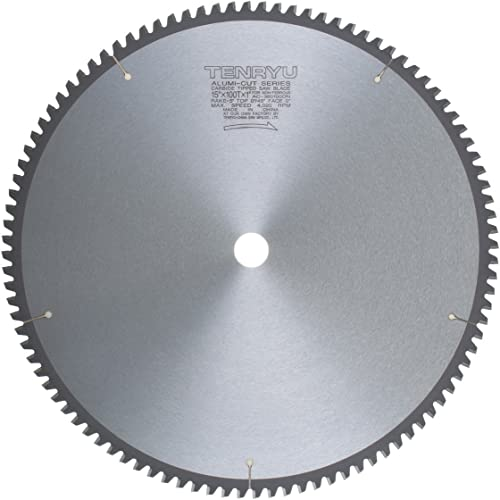 """2021 Tenryu outlet online sale AC-380100DN 15"""" Carbide Tipped Saw Blade ( 100 Tooth TCG Grind - 1"""" Arbor - 0.118 outlet sale Kerf) outlet sale"""