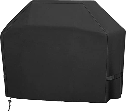lowest Grill wholesale Cover, BBQ Cover 58 Inch, 420D Double Layer Fabric, Waterproof, UV and Fade Resistant Gas Grill Cover, Fits outlet sale Weber Char-Broil Nexgrill Brinkmann and More (with Storage Bag) online sale