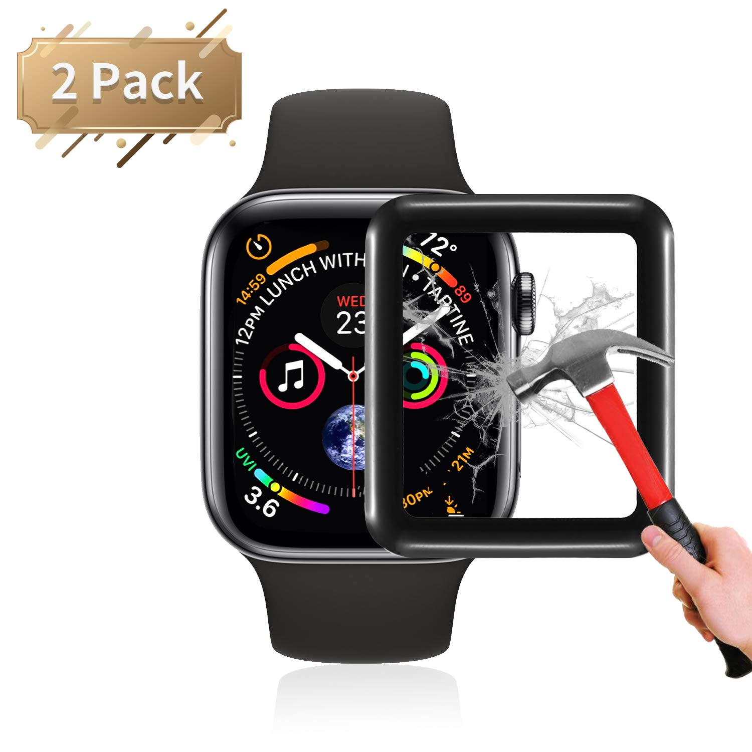 FOHUAS Apple Watch Screen Protector