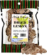 Asia Trans & Co. Dried Preserved Whole Lemon - Dehydrated Fruit Peel Snacks - Whole Lemon Crack Seed Slices - Sweet, Salty...