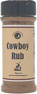 Premium | COWBOY RUB Steak Dry Rub Seasoning | Crafted in Small Batches with Farm Fresh SPICES for Premium Flavor and Zest