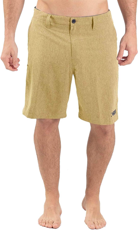 Wave Life Men's Tuna Size 32 H20 Active Hybrid 22  Shorts