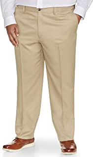 Men's Big & Tall Classic-fit Wrinkle-Resistant Flat-Front Dress Pant fit by DXL