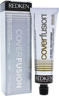 Redken Cover Fusion Low Ammonia Hair Color for Unisex, 7NN Natural, 2.1 Ounce