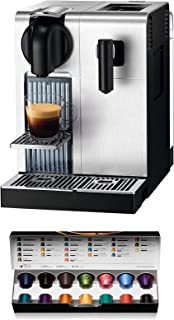 Nespresso DeLonghi Lattissima Pro EN 750MB-Cafetera de cápsulas, 19 bares, apagado automático, depósito de leche, pantalla...