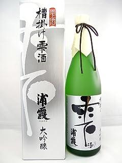 浦霞 槽掛け雫酒 720ml (ふながけしずくしゅ)