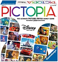 Ravensburger Pictopia: DISNEY Edition Family Trivia Board Game For Kids & Adults Age 7 & Up - Perfect Gift for Any Disney Fan!