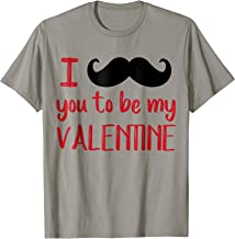 I Mustache You To Be My Valentine Tshirt Pun Tee