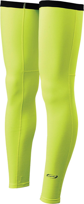 BBB ComfortLegs Cycling Leg Warmers  Neon Yellow  Medium