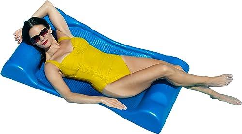moda Aqua Cell Deluxe Aqua Aqua Aqua Hammock Pool Float - 48 in. x 27 in. - azul  ventas calientes