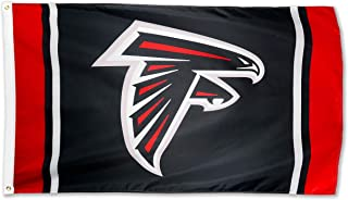Winner-Sports NFL Atlanta Falcons 3x5 Foot Polyester Flag - Vivid Color and Double Stitched - Super Bowl Banner with Brass Grommets 3 X 5 FT