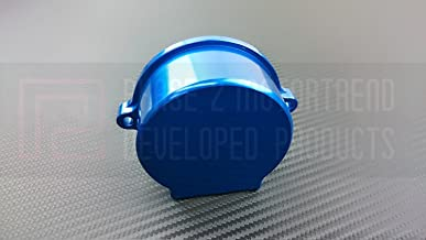 P2M Nissan SR20DET Billet Aluminum Crank Angle Sensor Cover Blue P2-CASNSR20B-GD