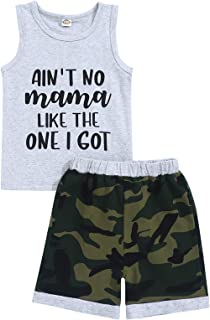 Toddler Baby Boy Clothes Outfits Summer Vest Top and...