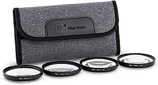 JJC 62 mm zestaw filtrów makro z bliżeniem (+2, 4, 8, 10) z workiem filtrującym do obiektywu Nikon Z5 Z50 Z6 II Z7 II + NI...