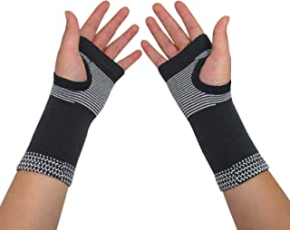 Carpal Tunnel Wrist Brace Pair for Women Men - Compression Wrist Support Sleeve for Carpal Tunnel Tendonitis Wrist Pain Hand Pain Sports Injuries Two Pieces