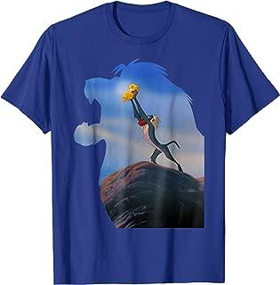 Lion King Rafiki Holding Baby Simba Graphic T-Shirt