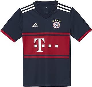 adidas Youth FC Bayern 2017/2018 Away Jersey