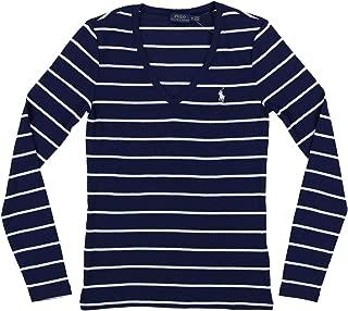Polo Womens Perfect Long Sleeve V Neck T-Shirt
