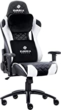 Eureka Gaming Chair Office Chair High Back Computer Chair Ergonomic Adjustable Swivel Desk Chair W Headrest and Lumbar Sup...