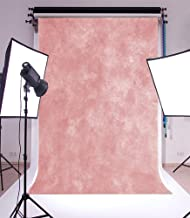 Laeacco 3x5ft Vinyl Backdrop Thin Photography Background Soft Light Pink Theme Solid Color Backdorp Persoanl Portraits 1x1.5m Photo Studio Props