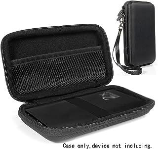 DULLA M50000 便携式移动移动电源黑色保护套,可拆卸腕带,*设备的松紧带