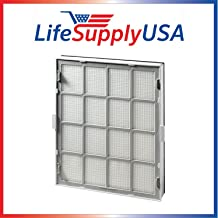 LifeSupplyUSA Complete Cassette Replacement Cartridge Filter Set Compatible with Kenmore EnviroSense Air Cleaner Model 85500, Part # 85510