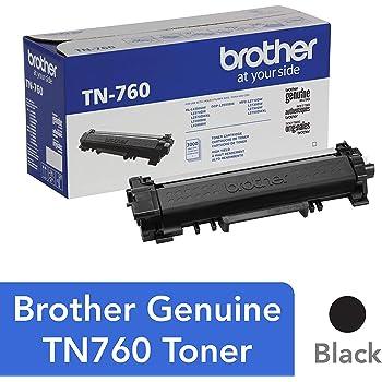 Brother Genuine Cartridge TN760 High Yield Black Toner